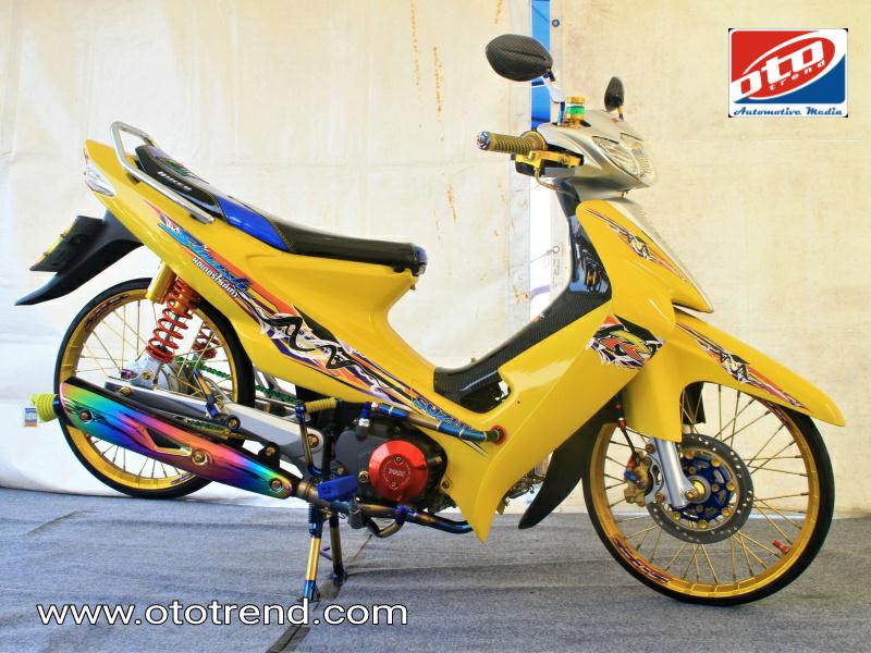 Suzuki Smash 2004 Padang Yellow Bukan Berarti Mellow