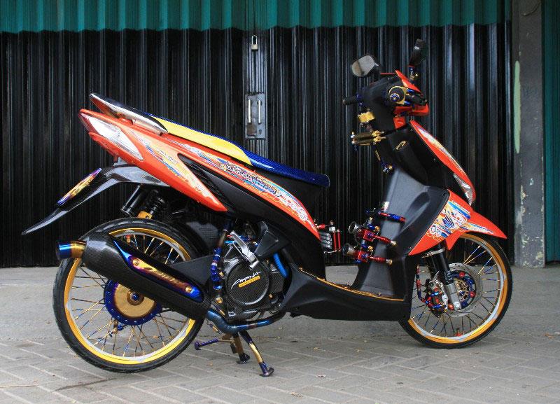 Modifikasi Motor Vario Lama Modifikasi Motor Honda Vario