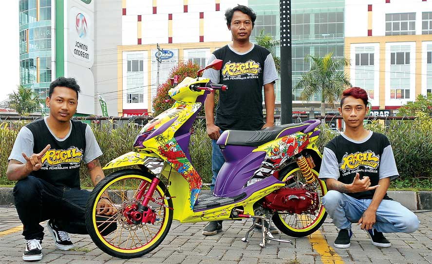 Honda BEAT '12 - SOLO : Inspired by Yakuza Tatto