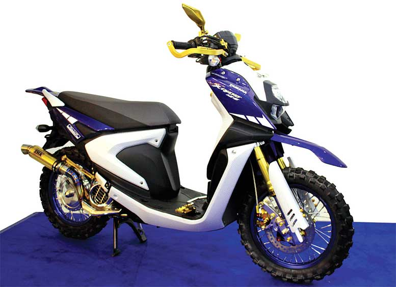 YAMAHA ALL NEW X-RIDE 125 '17 - PONTIANAK : ALL OUT MASTERPIECE ADVENTURE