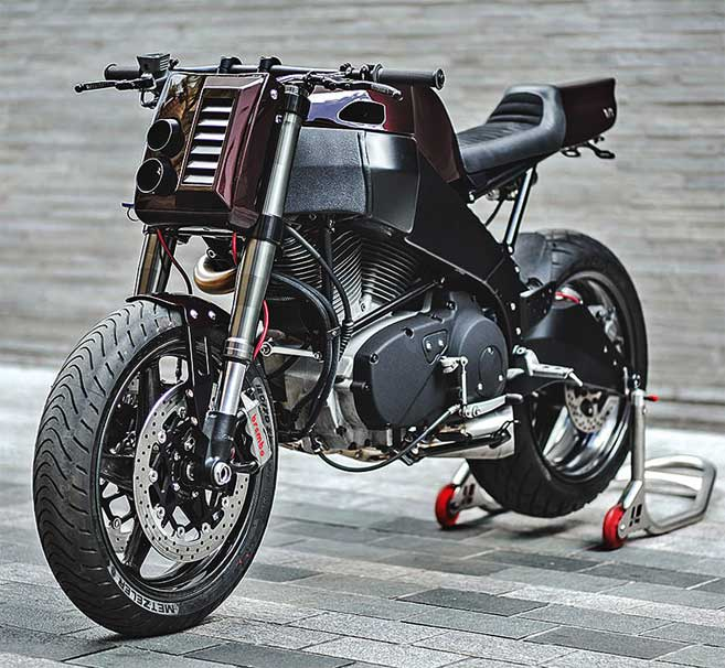Buell XB9 : CITY SLICKER
