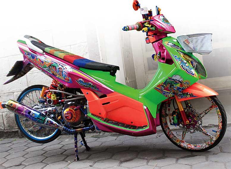 Yamaha Nouvo Z 2005 Bandung Diperkuat Trend Maksimal