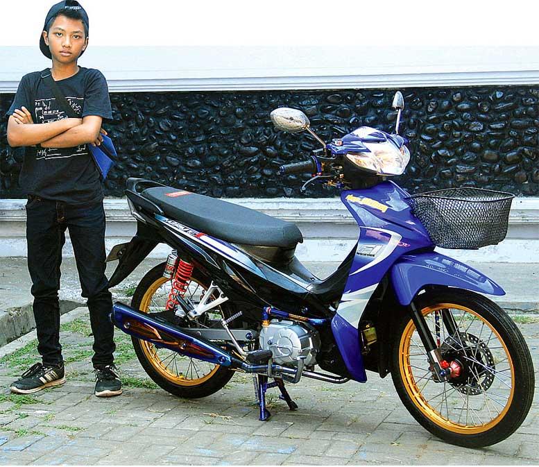 Honda Revo 11 Pekalongan Hobi Nge Thai