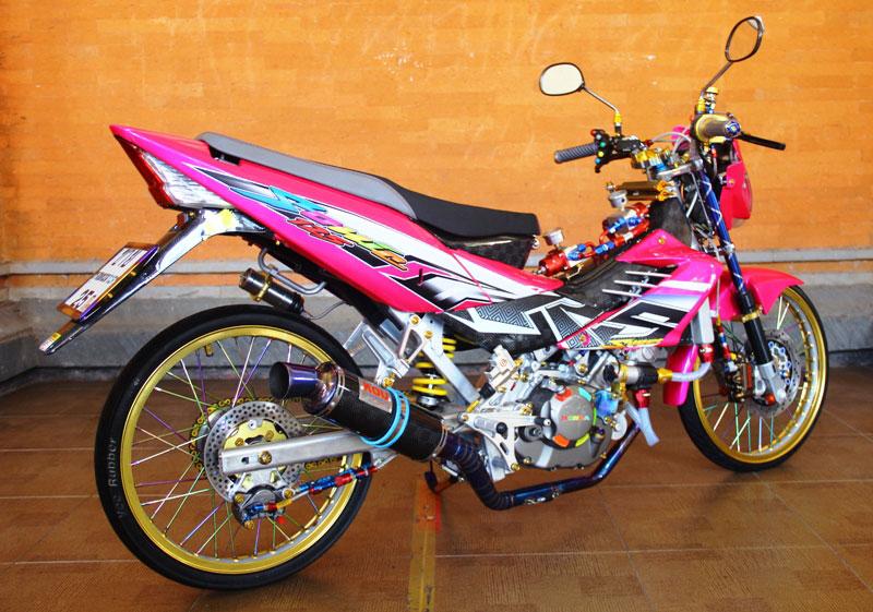 Honda Sonic Rs 125  U201901  U2013 Bali   Senjata Anyar Pasukan