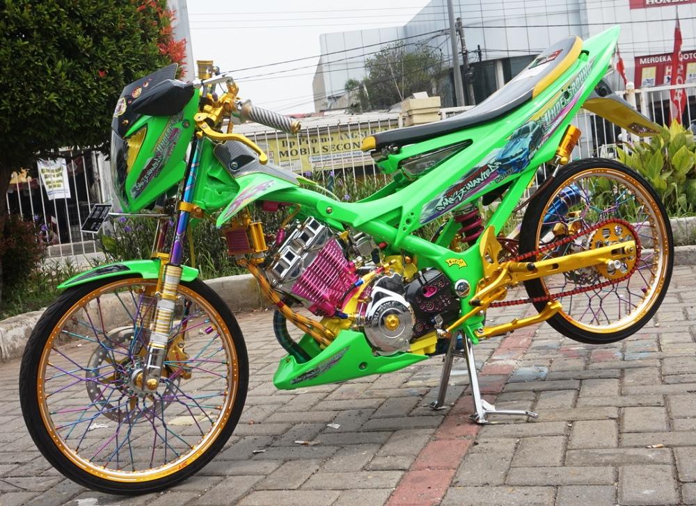 Suzuki Satria Fu 12 Subang Meliar Cakep Berparas Balap