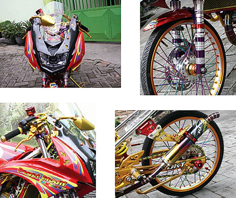 Kawasaki Ninja Rr 12 Surabaya Rehat Modif Tetap Berkarya