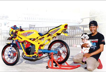 Kawasaki Ninja R 08 Makassar Pilih Kuning Lebih Racing