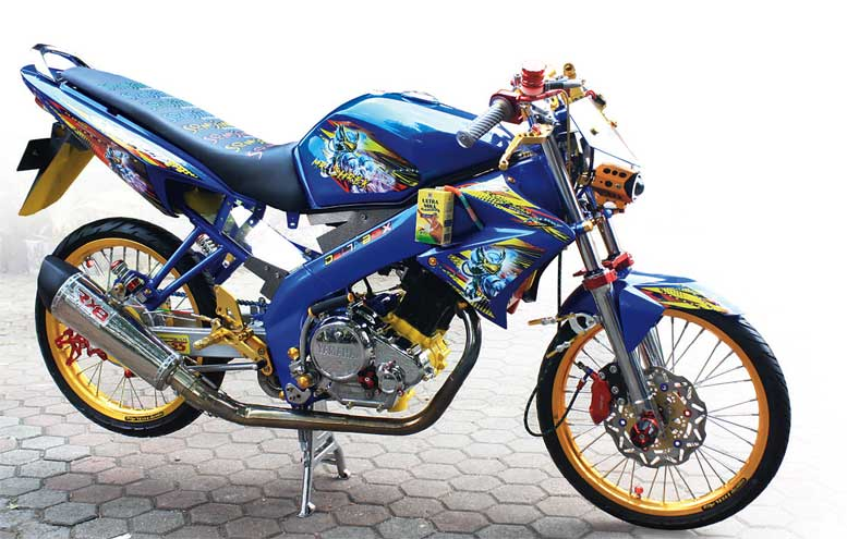 Yamaha V-IXION '12 - GRESIK : Geberan Mr. Shrek
