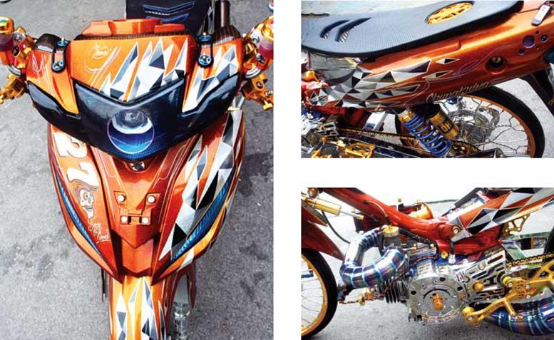 Yamaha Fiz R 04 Wonogiri Berani Main Segitiga