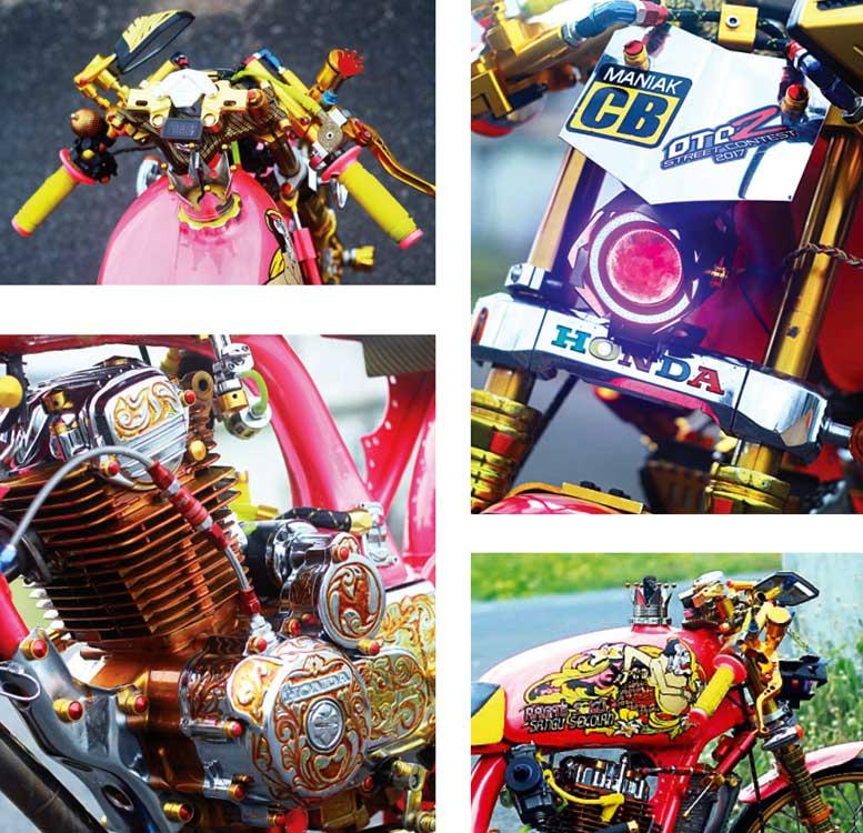 Honda Gl Max 125 04 Jember Ragat Soko Sangu Sekolah