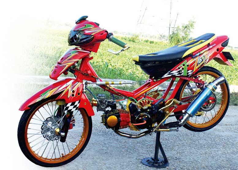 Honda Supra Fit 05 Sampang Trondol 135 Cc