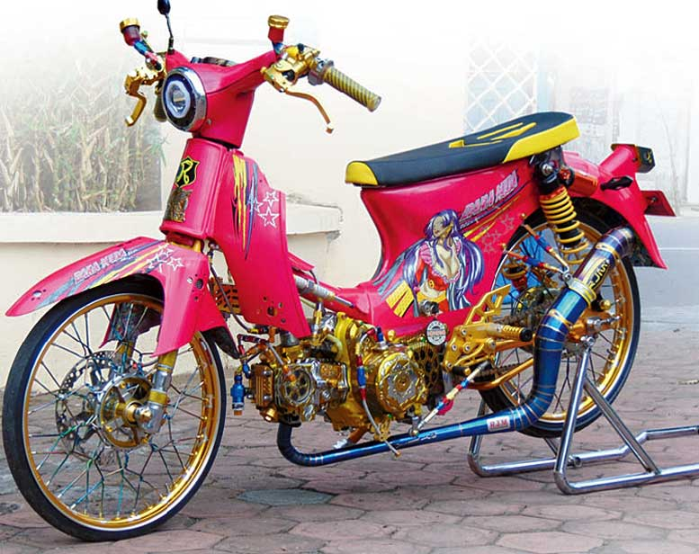 HONDA GRAND 96'- MOJOKERTO : GIRLY LOOK