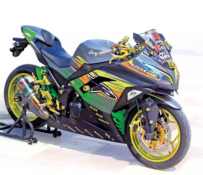 Motorcycle Fairing Plastic Set Bodywork Kit For Kawasaki