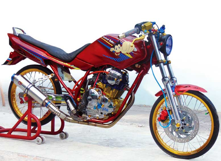 Yamaha Scorpio Z 09 Magetan Herek Galak Meracing Modif